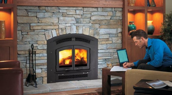 Regency EX90 Airtight Wood Fireplace - Regency EX90 Airtight Wood Fireplace : Fireplaces, Awnings, BBQ