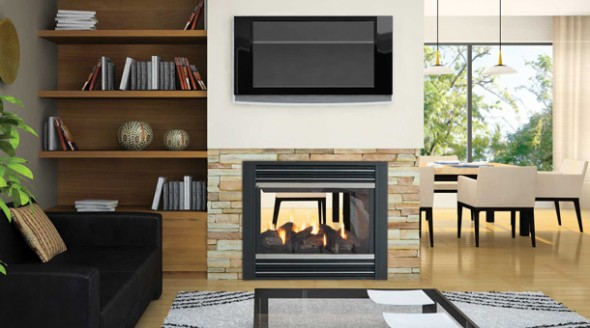 Regency Panorama P121 Multi Sided Gas Fireplace Fireplaces Awnings Bbq Products And Services