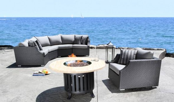 Outdoor Commercial Patio Furniture Fireplaces Awnings