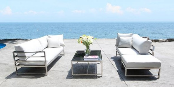 CabanaCoast Stainless Steel Patio Furniture